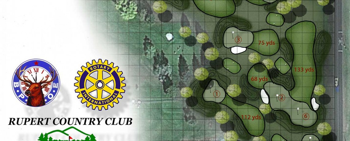 Rupert Rotary Club Supports the Wee Links Golf Facility